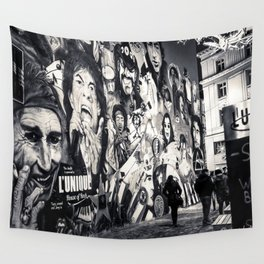 Rock n Roll Streets Wall Tapestry