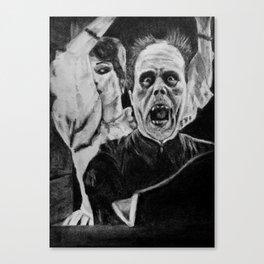 Unmasked! Canvas Print