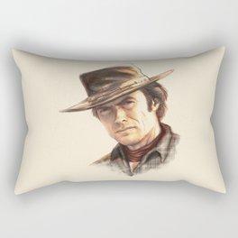 Clint Eastwood tribute Rectangular Pillow