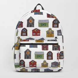 Barn Quilt Illustration Backpack