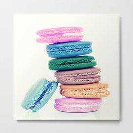 Pastel Macaroons  Metal Print