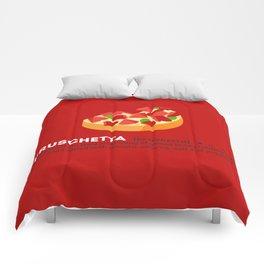 Bruschetta su Rosso Comforters