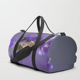 Lavender Bee Duffle Bag