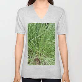 Grass Unisex V-Neck