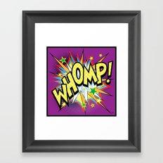 Whomp Framed Art Print