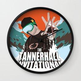 Tanner Hall Invitational Wall Clock