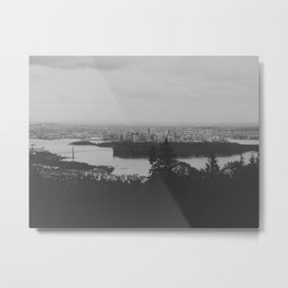 vancouver from cypress mountain. Metal Print