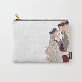 Flower Crown Lovers Carry-All Pouch