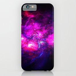 Abstract Nebula #9: Purple cloud iPhone Case