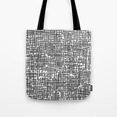 Crosshatch Tote Bag