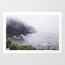 Overlook Art Print