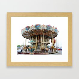 Carrusel of Bandol Framed Art Print