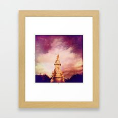 Victoria Memorial Framed Art Print