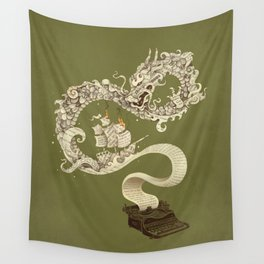 Unleashed Imagination Wall Tapestry