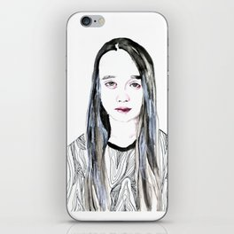 Into My Eyes iPhone Skin