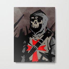 Templar Metal Print