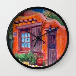 Adobe Wall Clock