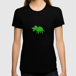 Cute Triceratops pattern T-shirt