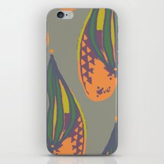 pina flower iPhone & iPod Skin