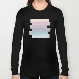 Quietude #society6 #abstractart Long Sleeve T-shirt