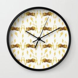 Ugly Thunder Wall Clock
