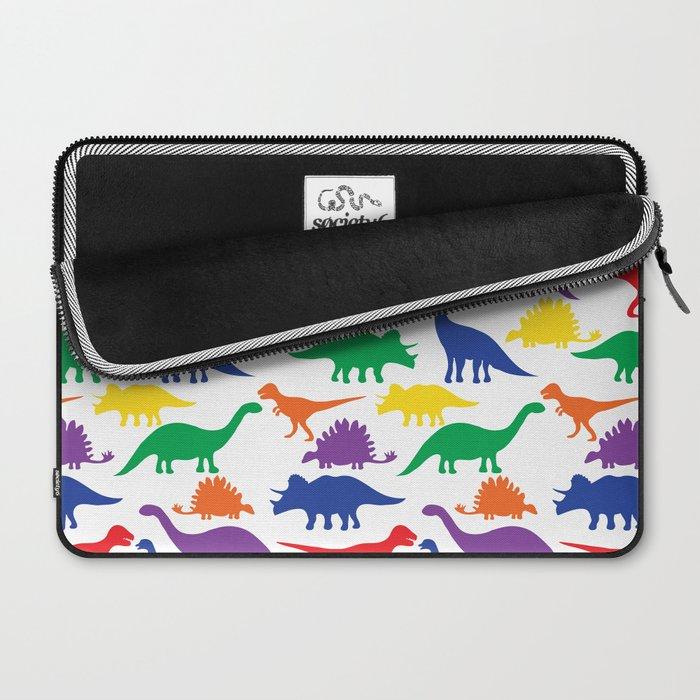 Dinosaurs - White Laptop Sleeve