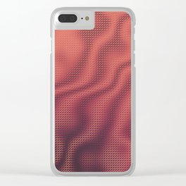 Cup of Joe and the Volcano Clear iPhone Case