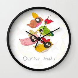 Pajaritos Wall Clock
