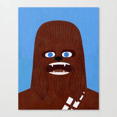 Chewbacca Canvas Print