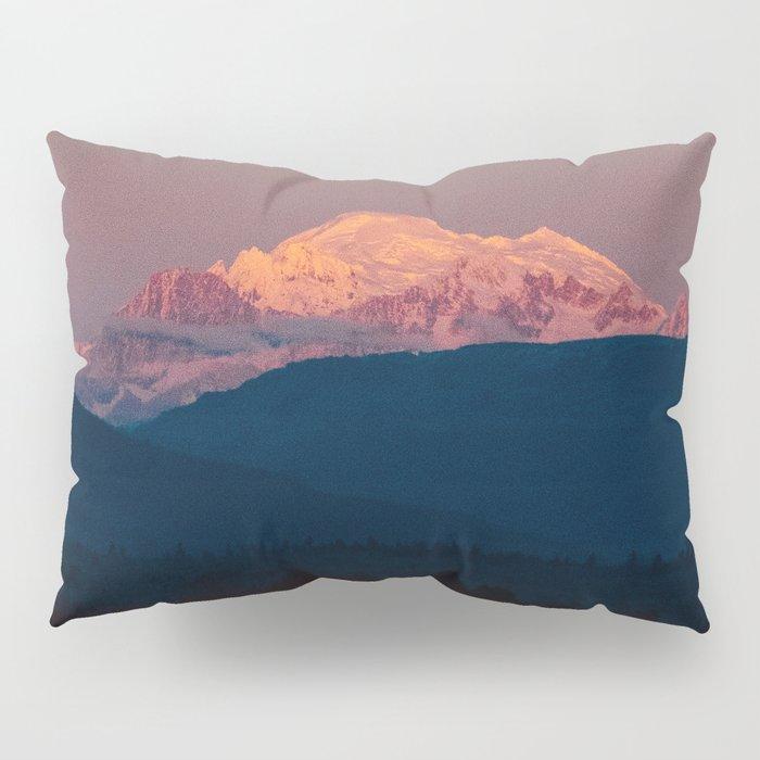 Sunset on Mount Baker Pillow Sham