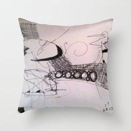 6/8/12 Throw Pillow