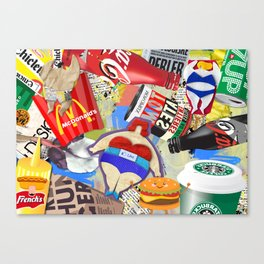 Fast and Fat Canvas Print