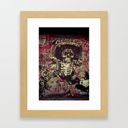 Art street, Napoli 4 Framed Art Print