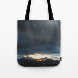 Sunrise over Kachemak Bay, Alaska Tote Bag