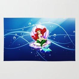 Ariel Mermaid Rug