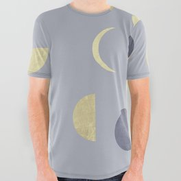 Moons All Over Graphic Tee