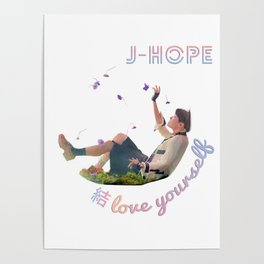 BTS Love Yourself Answer - JHope Poster