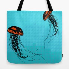 Tranquil Jellyfish Tote Bag