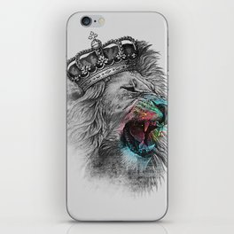 King Lion iPhone Skin