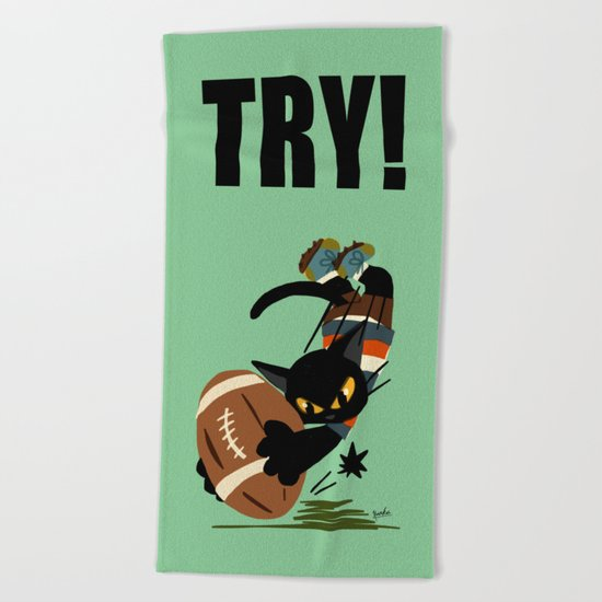 Try! Beach Towel