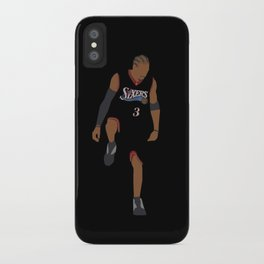 NBA Players   Allen Iverson over Lue iPhone Case