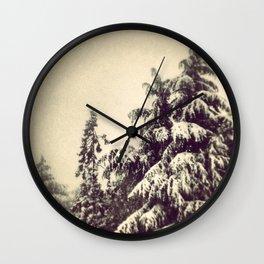 Wintery Fairyland Wall Clock