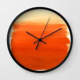 Oranges No. 1 Wall Clock