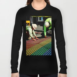Laying It On The Line Long Sleeve T-shirt