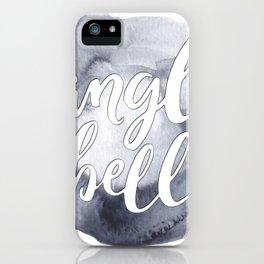 Jingle Hells iPhone Case