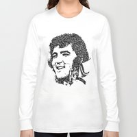 elvis presley Long Sleeve T-shirts featuring Elvis Presley by The Curly Whirl Girly.