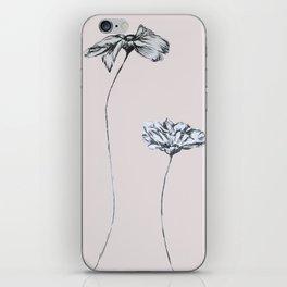 Pressed Flowers iPhone Skin