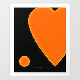 My Love For You Art Print
