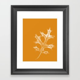 STATIONERY CARD - Autumn Leaf Framed Art Print