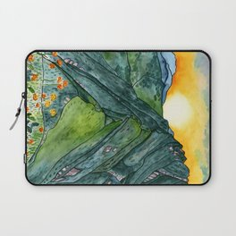 Watercolor Mountain Range Laptop Sleeve